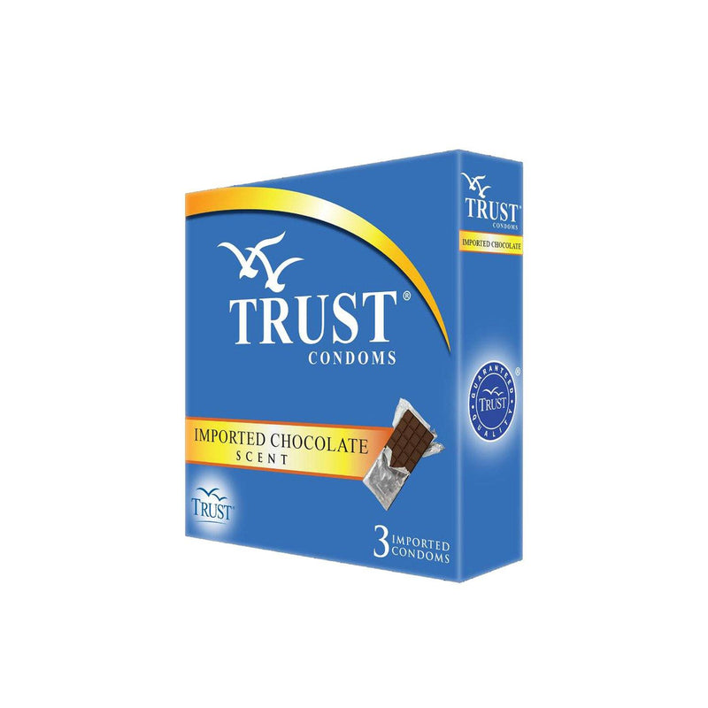 Trust Imported Chocolate Scents Condom - 3s