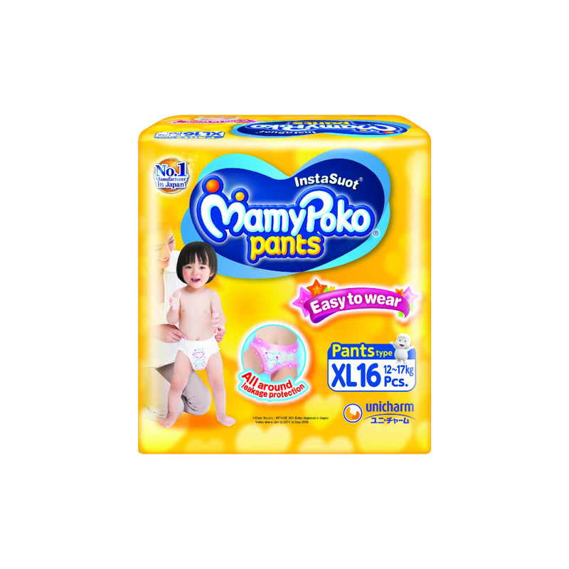 Mamy Poko Pants (XL) Diaper - 16S