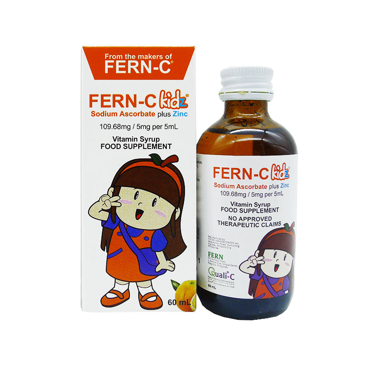 Fern - C Kidz 109.68 mg / 5 mg / 5 ml 60 ml