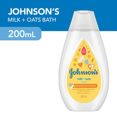 Johnson's Bath Milk plus Oat 200 ml