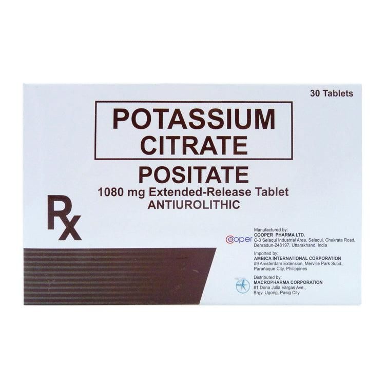 Rx: Positate 1080 mg Tablet