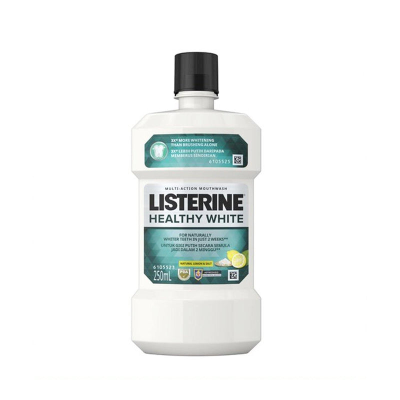 Listerine Healthy White 250 ml Mouthwash