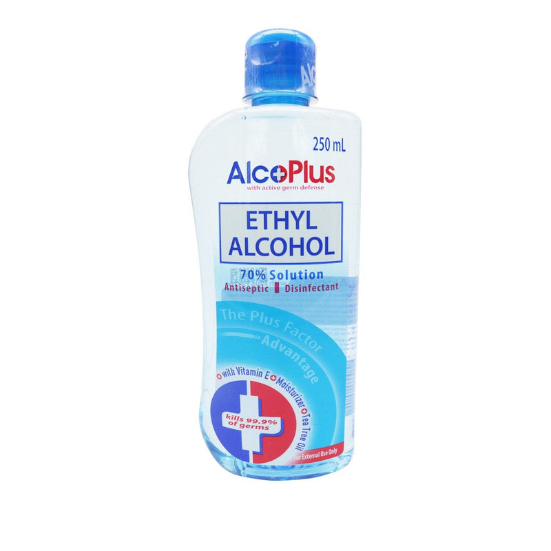 Alcoplus 70 % 250 ml Ethyl Alcohol
