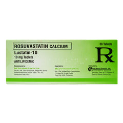 Rx: Lustatin 10 mg Tablet