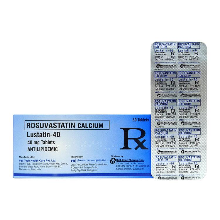 Rx: Lustatin 40 mg Tablet
