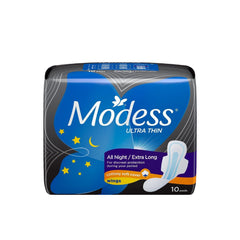 Modess Ultra Thin All Night Wings Napkin - 10s