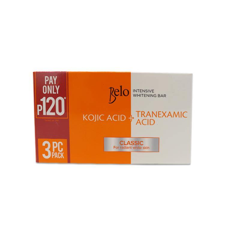 Belo Kojic + Tranexamic Acid Intensive Whitening Bar 65 g - 3s