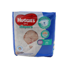 Huggies Dry New Born Diaper - 20s - Southstar Drug