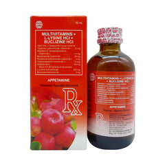 Rx: Appetamine 60 ml Syrup