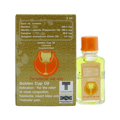 Golden Cup 3 ml Oil Liniment