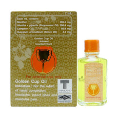 Golden Cup 7 ml Oil Liniment