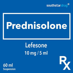 Rx: Lefesone 10 mg / 5 ml 60 ml Suspension