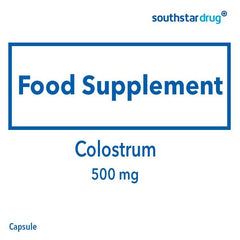 Colostrum 500 mg Capsule - 90s