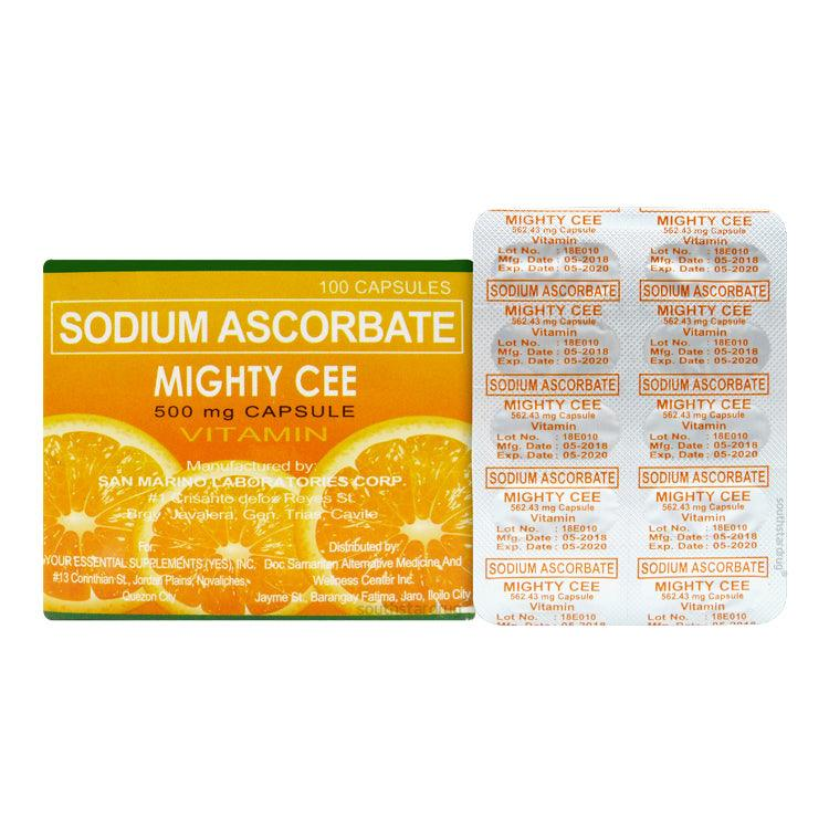 Mighty Cee 500 mg Capsule - 20s