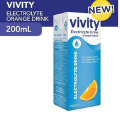 Vivity Electrolyte Orange Flavor 200 ml