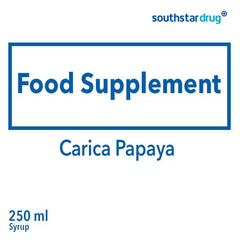 Carica Papaya 250 ml Syrup