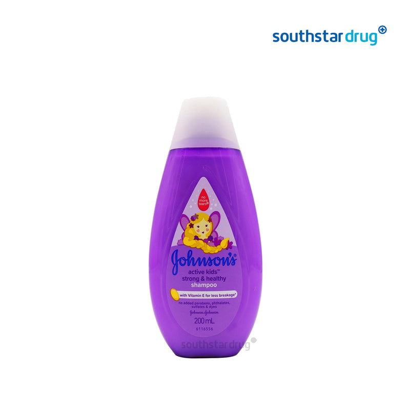 Johnson's Active Kids Strong & Healthy Shampoo 200 ml