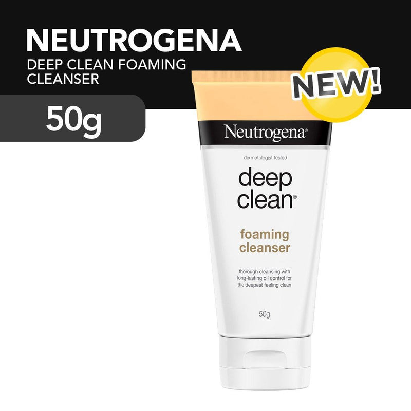 Neutrogena Deep Clean Foaming Cleanser 50 g