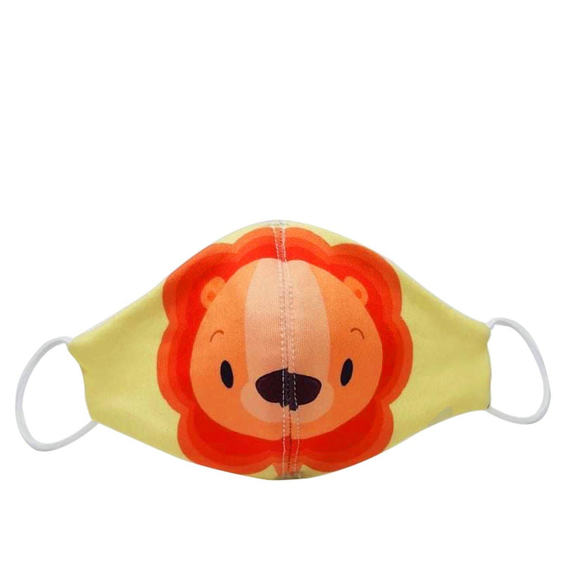 Erin Apparel Kids Lion Face Mask