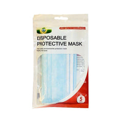 Disposable Protective Face Mask 3 ply - 5s