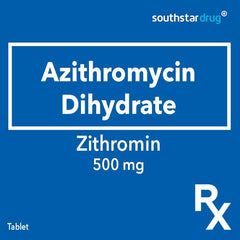 Rx: Zithromin 500 mg Tablet
