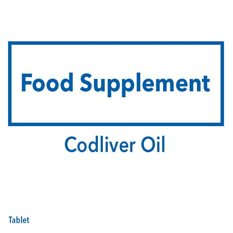 Codliver Oil Tablet - 20s