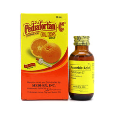 Rx: Pediafortan - C 100 mg / ml 30 ml Oral Drops