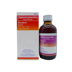 Benadryl 12.5 mg / 5 ml 60 ml Syrup - Southstar Drug