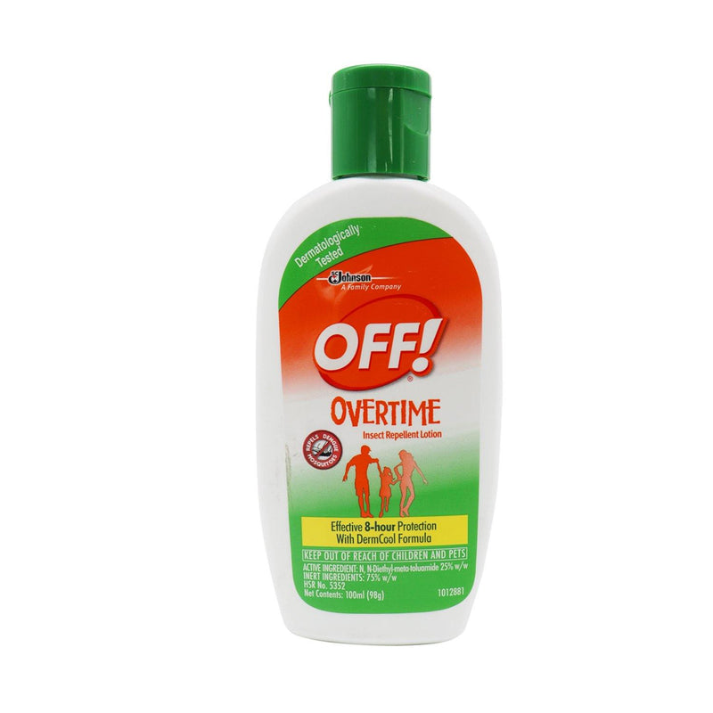 Off Overtime Lotion 50 ml - Southstar Drug