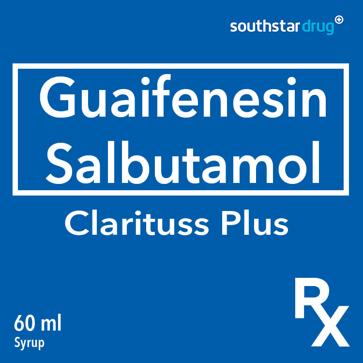 Rx: Clarituss Plus 60 ml Syrup
