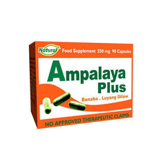 Ampalaya Plus 550 mg Capsule - 20s