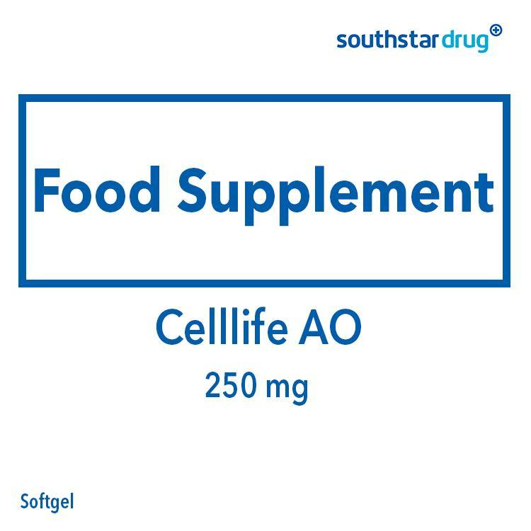 Celllife AO 250 mg Softgel - 20s