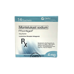 Rx: Montiget 4 mg Granules