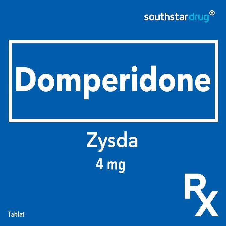 Rx: Zysda 4 mg Tablet - Southstar Drug