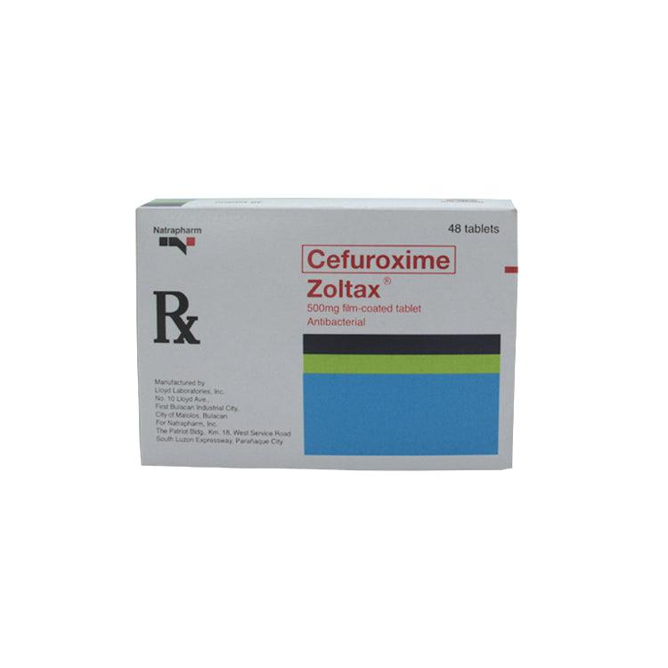 Rx: Zoltax 500 mg Tablet