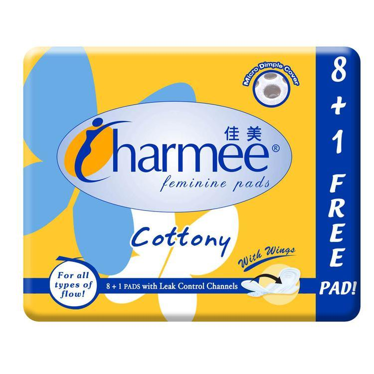 Charmee Cottony with Wings 8 + 1 Napkin