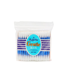 Babyflo Gentle Cotton Buds Plastic Stems 108 Tips