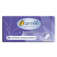 Charmee Breathable Lavender Scent Panty Liner - 20s