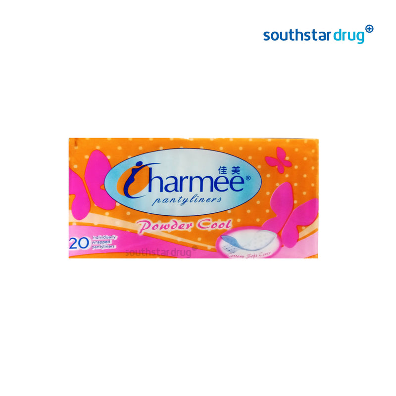 Charmee Powder Cool Panty Liner- 20s