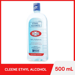 Cleene 70% Solution Ethyl Alcohol 500 ml