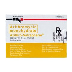 Rx: Azithro 500 mg Tablet
