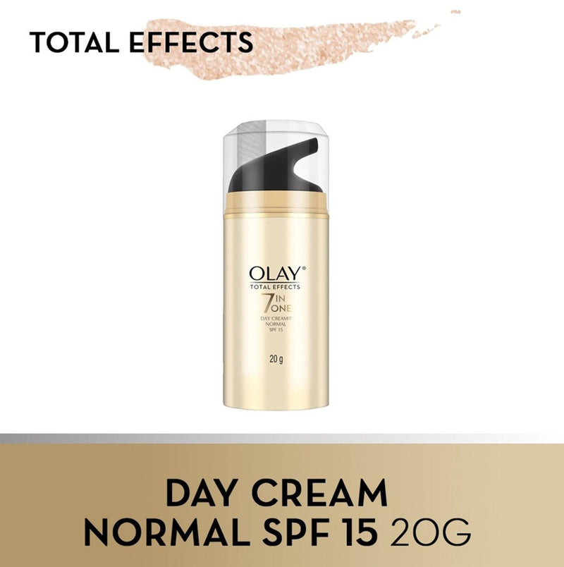 Olay Skin Total Effects 7 in One Day Cream Normal Spf 15 20 g - Southstar Drug