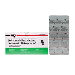 Rx: Atorvast 40 mg Tablet