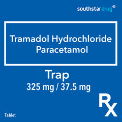Rx: Trap 325 mg / 37.5 mg Tablet