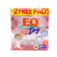 EQ Dry XXL Diaper - 24s - Southstar Drug