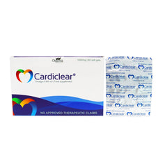 Cardiclear Fish Oil 1000 mg Softgel Capsule - 20s