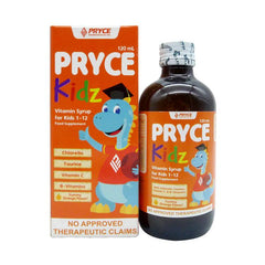 Pryce Kidz Orange 120 ml Syrup