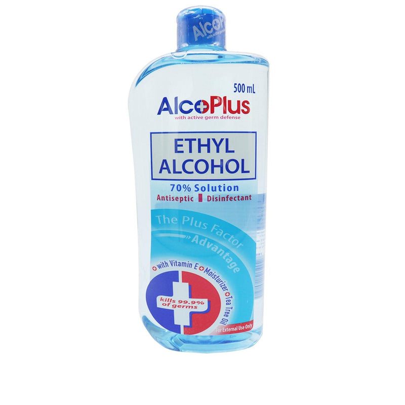 Alcoplus 70 % 500 ml Ethyl Alcohol