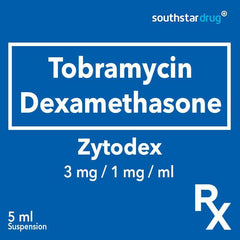 Rx: Zytodex 3 mg / 1 mg / ml 5 ml Suspension