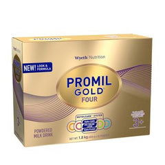 MAB PROMIL GOLD FOUR Powdered Milk Drink for Over 3 Years Old 1.8 kg